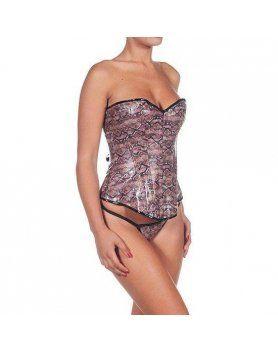 intimax corset cocodrilo morado VIBRASHOP