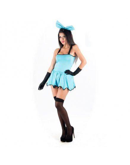picaresque disfraz betty marmol azul VIBRASHOP