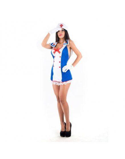 picaresque disfraz seawoman azul VIBRASHOP