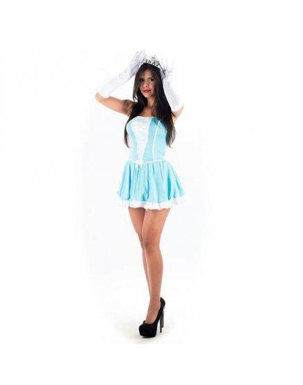 picaresque disfraz princesa azul VIBRASHOP