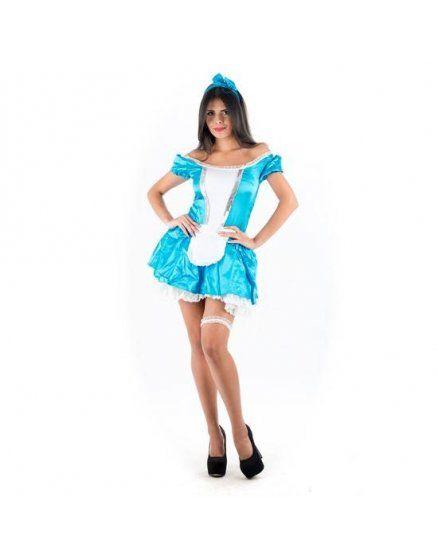 picaresque disfraz alicia en el país de las maravillas azul VIBRASHOP