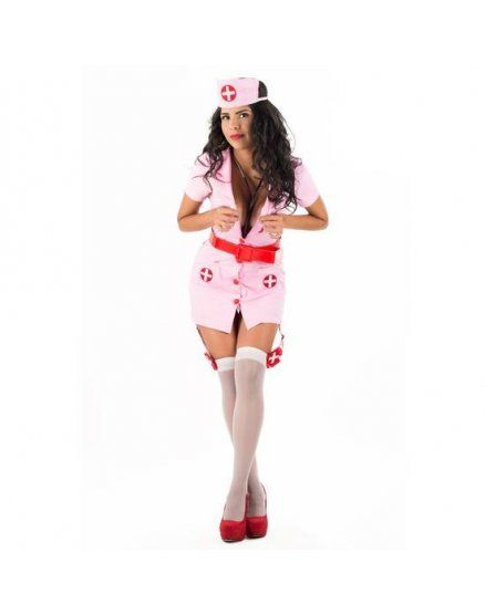 picaresque disfraz nurse jaira rosa VIBRASHOP