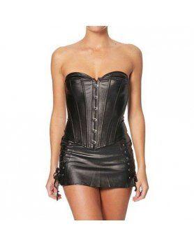 intimax corset fetish negro VIBRASHOP