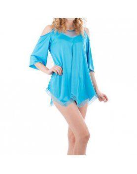 intimax camisón pekin azul VIBRASHOP