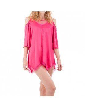 intimax camisón pekin rosa VIBRASHOP