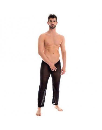 pantalones marco negro VIBRASHOP