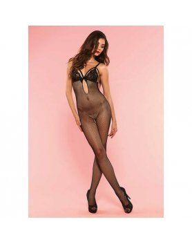 leg avenue body multired con sujetador de encaje