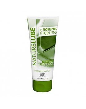 hot nature lubricante aloevera 100 ml VIBRASHOP