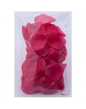 100 petalos color fuscia VIBRASHOP