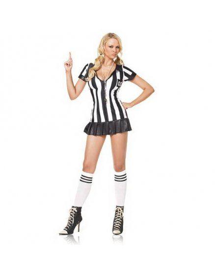 leg avenue disfraz femenino de arbitro VIBRASHOP
