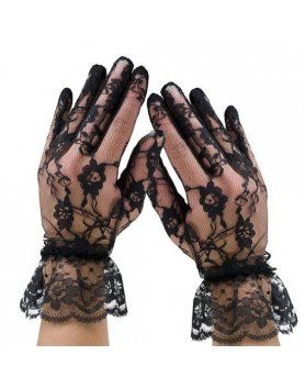 leg avenue guantes de encaje con volante VIBRASHOP