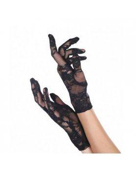 leg avenue guantes elasticos de encaje VIBRASHOP
