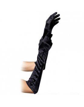 leg avenue guantes extra largos negros con botones VIBRASHOP