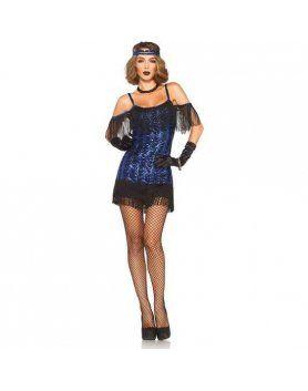 leg avenue femenino señorita gatsby VIBRASHOP