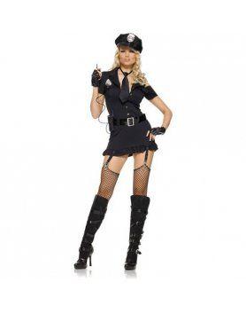 leg avenue disfraz femenino policia sexy VIBRASHOP