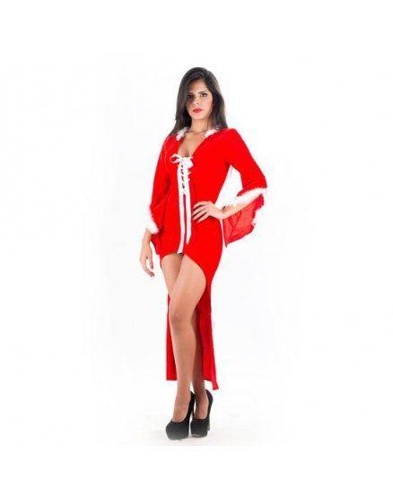 picaresque disfraz mama noel rojo VIBRASHOP