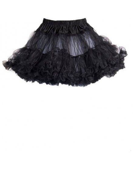 leg avenue petticoat negra VIBRASHOP