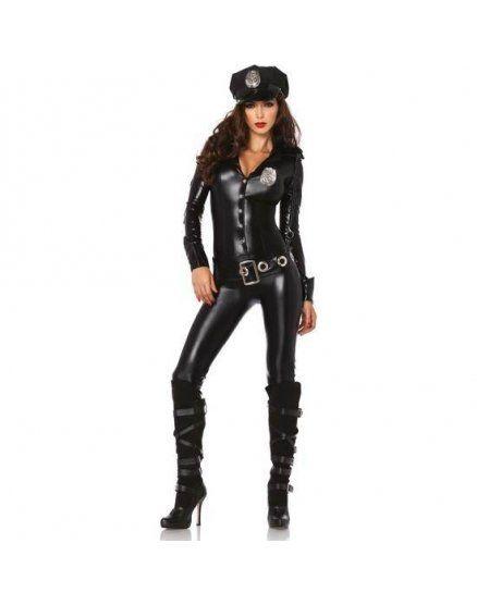 leg avenue disfraz femenino oficial de policía VIBRASHOP