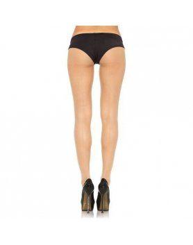 leg avenue medias ultrafinas con costuras traseras nude VIBRASHOP