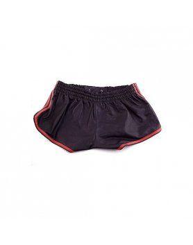 pantalón cuero hombre rojo VIBRASHOP