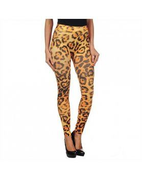 intimax yellow leopard legging
