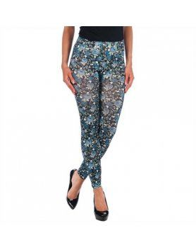 intimax legging flores grey