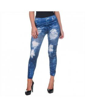 intimax legging pintado blue
