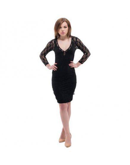 purpura concept vestido kassel negro VIBRASHOP