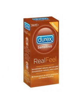 PRESERVATIVOS REAL FEEL DUREX VIBRASHOP