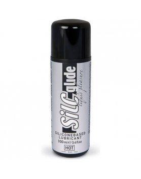 hot silc glide lubricante base silicona 100 ml VIBRASHOP