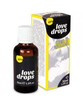 ERO LOVE DROPS GOTAS ESTIMULANTES PARA EL Y ELLA 30 ML VIBRASHOP