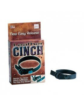 ANILLO PARA EL PENE LEATHER CINCH- CALEXOTICS