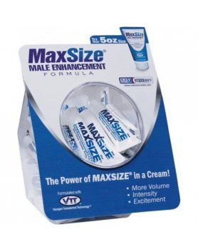 CREMAS VIGORIZANTES SWISS NAVY - PACK DISPENSER MAXSIZE CREAM