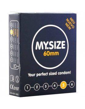 my size preservativos 60 mm 3 uds VIBRASHOP