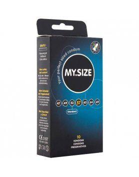 my size preservativos 57 mm 10 uds VIBRASHOP