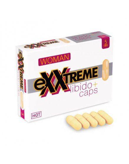 Afrodisiacos en capsulas Exxtreme libido mujer 5 Uds VIBRASHOP