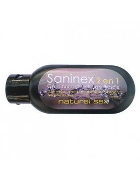 LUBRICANTE NATURAL SEX 2 EN 1 SANINEX VIBRASHOP