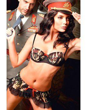 baci disfraz de sargento sexy