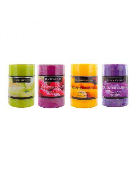 kit velas de colores con aroma VIBRASHOP