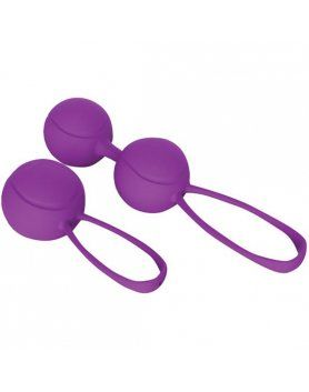 kit de bolas kegel de placer moradas VIBRASHOP