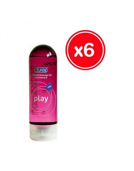 durex play massage 200 ml 6 uds VIBRASHOP