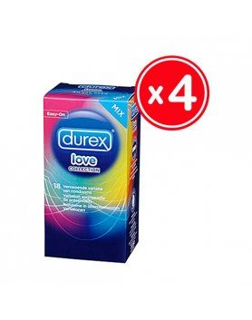 PRESERVATIVOS LOVE COLLECTION  DUREX VIBRASHOP