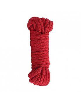cuerda bondage estilo japonés rojo VIBRASHOP