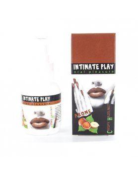 intimate play gel para sexo oral avellana