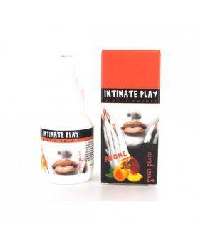 intimate play gel para sexo oral melocotón