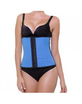 corset latex appearance azul