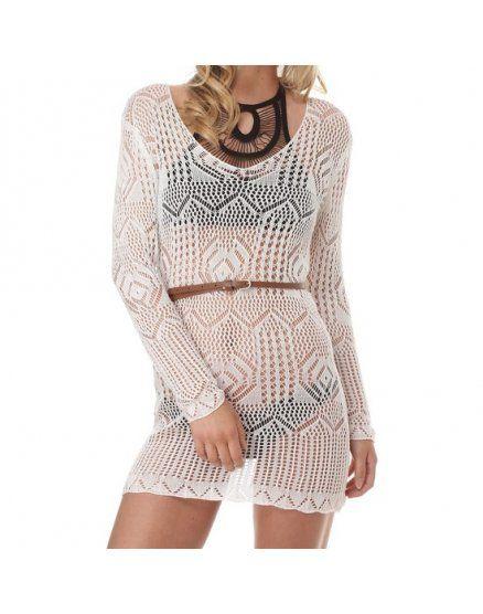 vestido vivara blanco VIBRASHOP