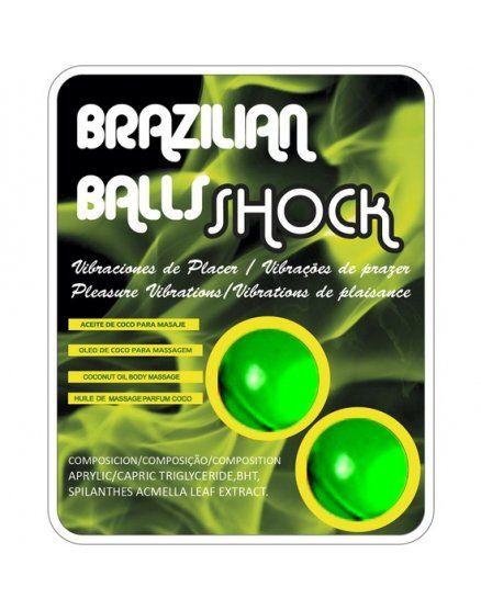 SET 2 BOLAS BRASILENAS CON LUBRICANTE VIBRASHOP