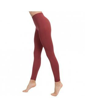 LEGGINGS PUSH UP COSMeTICO TEXTIL COLOR MARSALA DE ANAISSA VIBRASHOP
