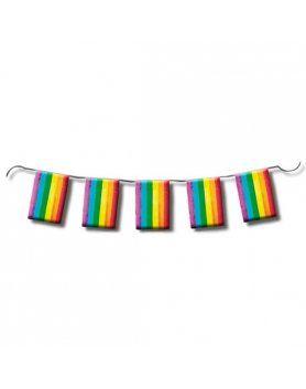 TIRA DE BANDERAS ORGULLO LGBT 10M VIBRASHOP